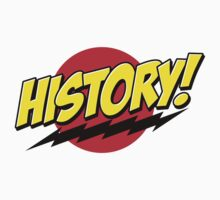 History! Sticker by DWS-Store