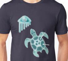 Steel Turtle ~ Teal Unisex T-Shirt