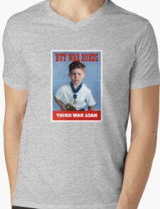 Buy War Bonds -- Third War Loan  Mens V-Neck T-Shirt