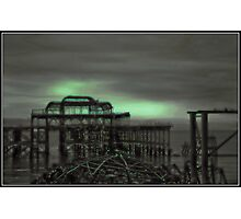Emerald Pier Photographic Print