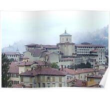 Bergamo Alto Poster
