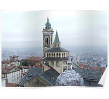 Bergamo Church Poster
