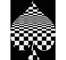 club optical illusion Photographic Print