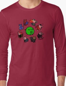 Pig Avengers Long Sleeve T-Shirt