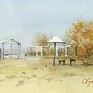 Autumn coast by Sergei Kurbatov