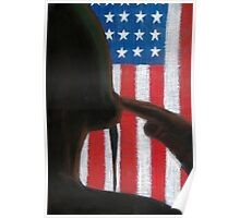 Stand Strong: American Patriot Poster