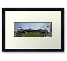 A Day At The Ball Park Framed Print