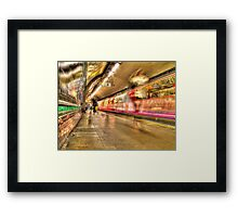 The Big Blur Framed Print