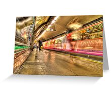 The Big Blur Greeting Card
