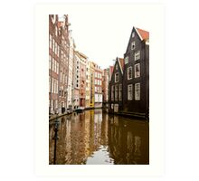 Canal Bend Art Print