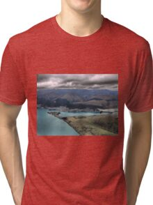 Centre Left and the Chairlift Tri-blend T-Shirt