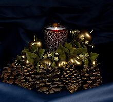 Candle Centerpiece by Gary Smith
