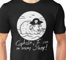 I see an enemy Sheep! - Black Edition Unisex T-Shirt