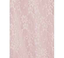 Pink Lace  Photographic Print