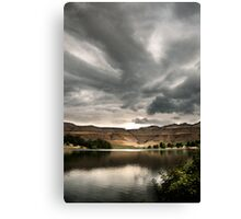 Drakensberg storm clouds, Kwazulu Natal, South Africa Canvas Print