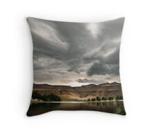 Drakensberg storm clouds, Kwazulu Natal, South Africa Throw Pillow