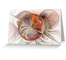 Espiral Loonie Greeting Card
