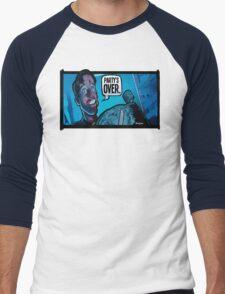 Party's Over Dead Alive Men's Baseball ¾ T-Shirt