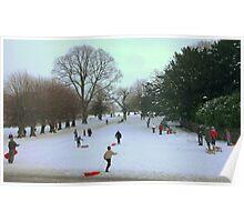 Fun In The Snow!! Poster