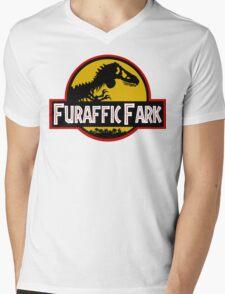 Furaffic Fark Mens V-Neck T-Shirt
