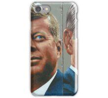Berlin Wall JFK Reagan Graffiti Art iPhone Case/Skin