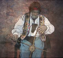The one string musician by Marie Luise  Strohmenger