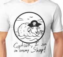 I see an enemy Sheep! - White Edition Unisex T-Shirt