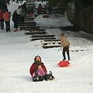 Fun In The Snow 2 by Franco De Luca Calce