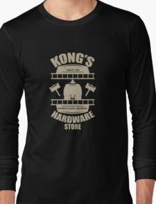Kong's Hardware Store Long Sleeve T-Shirt