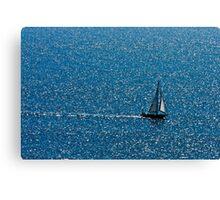 Sea and Sail Canvas Print