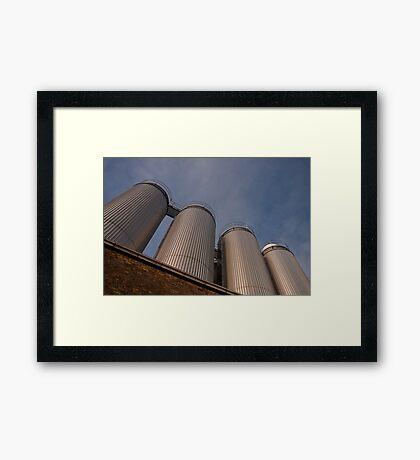 Guinness vats Framed Print
