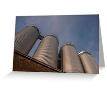 Guinness vats Greeting Card