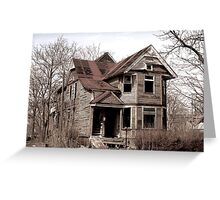 What Once was...Now is... Greeting Card