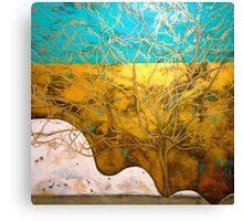 Golden Embrace Canvas Print