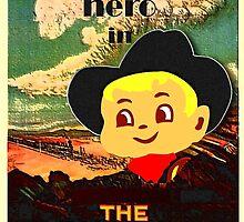 Vintage Kid Billy Movie poster by patjila