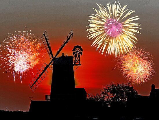 Cley Fawkes Night by Norfolkimages