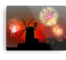 Cley Fawkes Night Metal Print