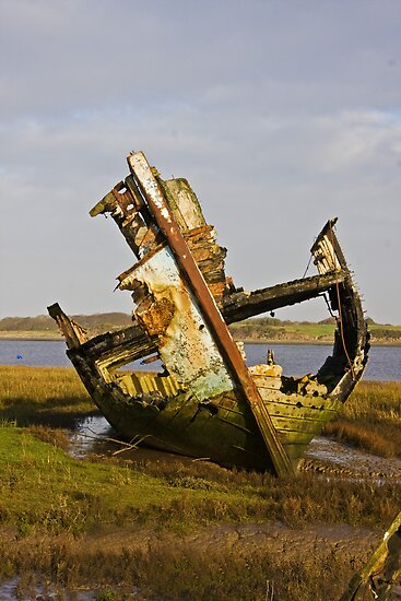Fleetwood Wreck by Peter Stone
