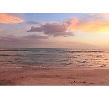 Pastel Beach Photographic Print