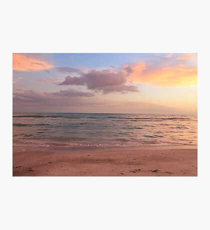 Pastel Beach Photographic Print