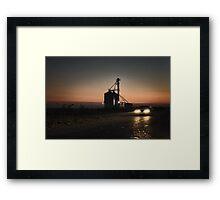 Evening drive Framed Print