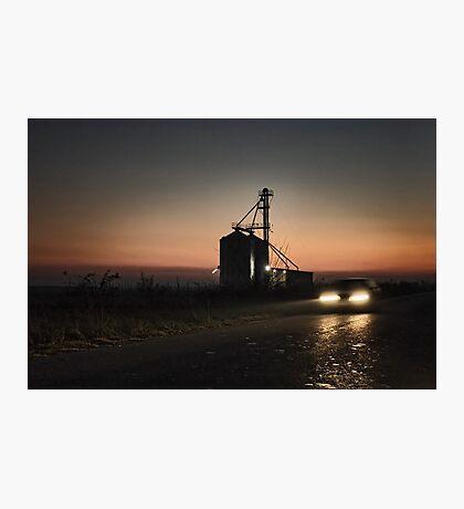 Evening drive Photographic Print