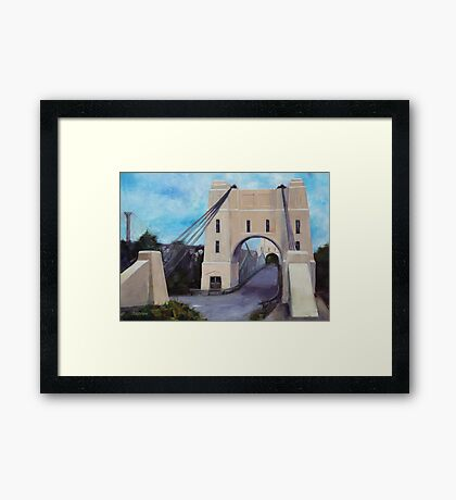 Walter Taylor Bridge, Indooroopilly Framed Print