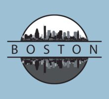 Boston Massachusetts by FamilyT-Shirts