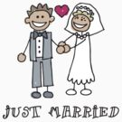 """Wedding Day """"Just Married"""" by FamilyT-Shirts"""