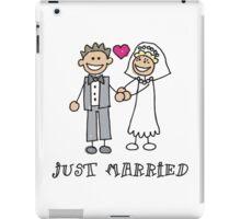 "Wedding Day ""Just Married"" iPad Case/Skin"