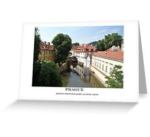 certovka channel Greeting Card