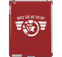 Whose Side Are You On? - Civil War iPad Case/Skin