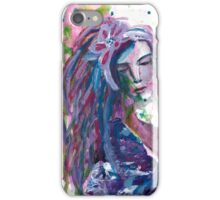 The Stranger - Inspired by Dina Wakley iPhone Case/Skin