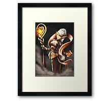 Elven Mage Framed Print